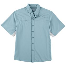 850318562159 Reel Legends Mens Ultimate Mariner Short Sleeve Shirt