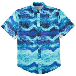 Reel Legends Mens Mariner II Generated Skin Shirt