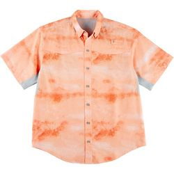 Reel Legends Mens Mariner Slick Hogfish Short Sleeve Shirt