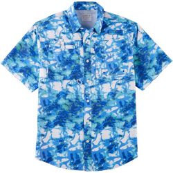 Reel Legends Mens Saltwater II Shoreline Short Sleeve Shirt