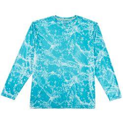 Reel Legends Mens Reel-Tec Cannonball Long Sleeve T-Shirt
