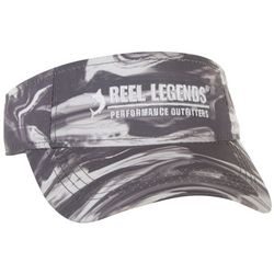 Reel Legends Mens Sonic Performance Visor
