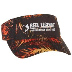 Reel Legends Mens Mystery Palm Performance Visor