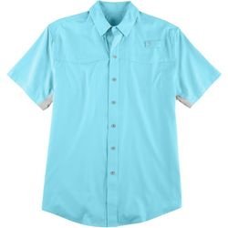 Reel Legends Mens Mariner Short Sleeve Shirt