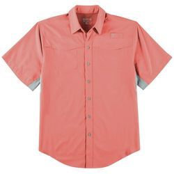 Reel Legends Mens Mariner II Short Sleeve Shirt