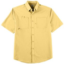 Reel Legends Mens Shadester Short Sleeve Shirt