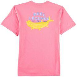 Reel Legends Mens Neon Tarpon T-Shirt