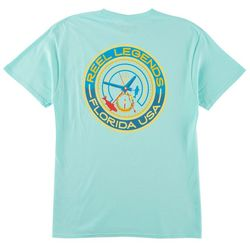Reel Legends Mens Fish O'Clock T-Shirt