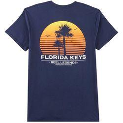 Reel Legends Mens Florida Keys Sun T-Shirt