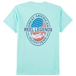 Reel Legends Mens Great American T-Shirt