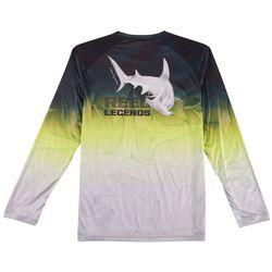 Reel Legends Mens Reel-Tec Hammerhead Long Sleeve T-Shirt