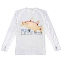 Reel Legends Mens Reel-Tec Hogfish Long Sleeve T-Shirt