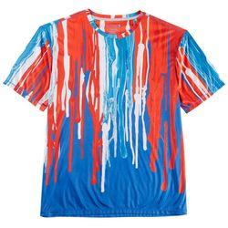 Reel Legends Mens Reel-Tec Americana T-Shirt