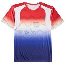 Reel Legends Mens Reel-Tec Tails Up T-Shirt