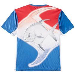 Reel Legends Mens Keep It Cool Kermet The Permet T-Shirt