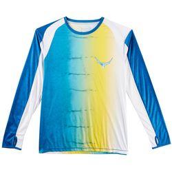 Reel Legends Mens Reel-Tec Kingfish T-Shirt