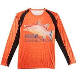 Reel Legends Mens Reel-Tec Hogsport T-Shirt