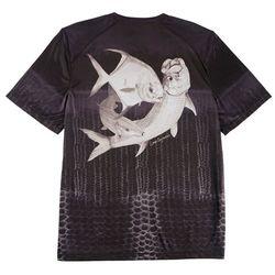 Reel Legends Mens Reel-Tec Florida Grand Slam T-Shirt