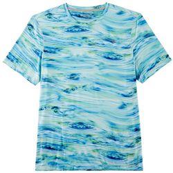 Reel Legends Mens Keep It Cool Waterline T-Shirt