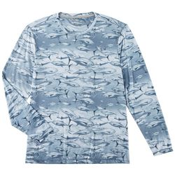 Reel Legends Mens Keep It Cool Tuna Long Sleeve T-Shirt