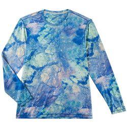Reel Legends Mens Keep It Cool Mineral Long Sleeve T-Shirt