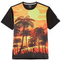 Reel Legends Mens Freeline Firesky Short Sleeve T-Shirt