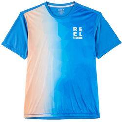 Reel Legends Mens Freeline Mosaic Short Sleeve T-Shirt