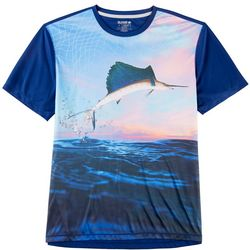 Reel Legends Mens Freeline Sail Away Short Sleeve T-Shirt