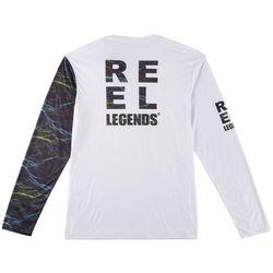 Reel Legends Mens Reel-Tec Moto-X Ponite Wave T-Shirt