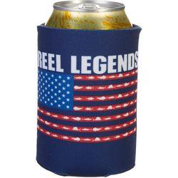 Reel Legends Fish Flag Can Cooler
