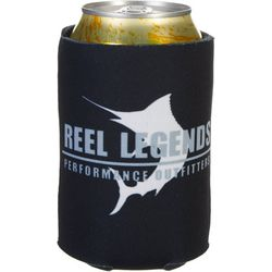 Reel Legends Reel Black Can Cooler