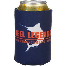 Reel Legends Team Blue Can Cooler