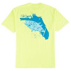Reel Legends Mens Florida Tuna T-Shirt