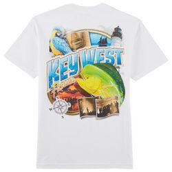 Reel Legends Mens Key West Mahi T-Shirt