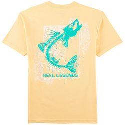 Reel Legends Mens Snook Skeleton T-Shirt