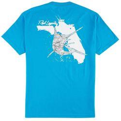 Reel Legends Mens Marlin Florida T-Shirt