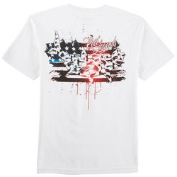Reel Legends Mens American Paint T-Shirt