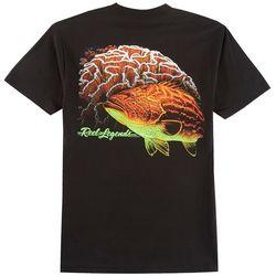Reel Legends Mens Florida Coral T-Shirt