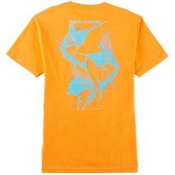 Reel Legends Mens Skeleton T-Shirt