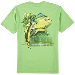 Reel Legends Mens Mahi-Mahi Graphic T-Shirt