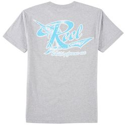 Reel Legends Mens Salt Perfect Heather T-Shirt