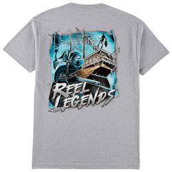 Reel Legends Mens Ship Spear T-Shirt