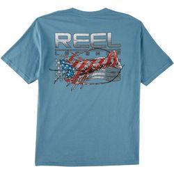 Reel Legends Mens Americana Lobster T-Shirt