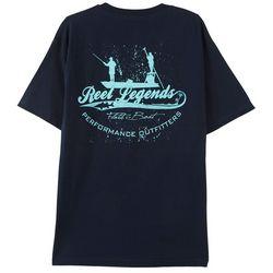 Reel Legends Mens Flats Boat T-Shirt