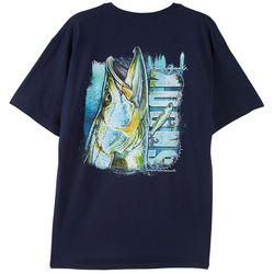 Reel Legends Mens Tight Line Snook T-Shirt