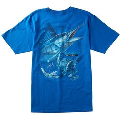 Reel Legends Mens Sailfish T-Shirt