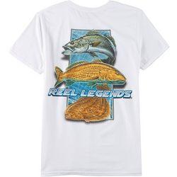 Reel Legends Mens Seaside Slam Short Sleeve T-Shirt