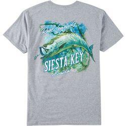 Reel Legends Mens Siesta Key Short Sleeve T-Shirt