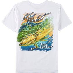 Reel Legends Mens Key West Mahi Short Sleeve T-Shirt
