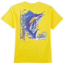 Reel Legends Mens Atlantic Sailfish T-Shirt